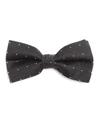 New Man Micro Jacquard Silk Bow Tie