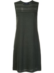 Magaschoni Fitted Dress Green