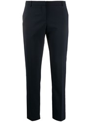 Semicouture Mid Rise Cropped Cigarette Trousers 60