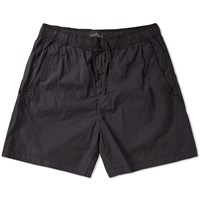 Stone Island Shadow Project Garment Dyed Short Black