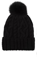 Eugenia Kim Women's Cable Knit Beanie Black