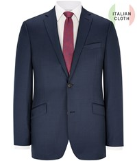 Austin Reed Contemporary Fit Blue Pindot Jacket