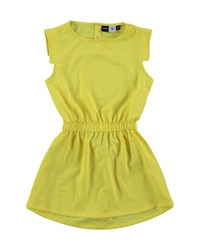 Molo Sleeveless Popover Back A Line Dress Lemongrass 3 14