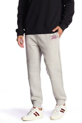 Bally Topstitched Joggers Grey