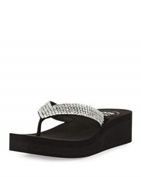 Premium Collection By Yellow Box Francine Embellished Wedge Sandal