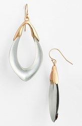 Women's Alexis Bittar 'Lucite Neo Bohemian' Open Drop Earrings Silver