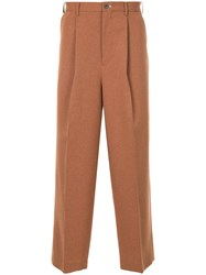 Loveless Loose Fit Trousers Brown