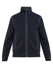 Polo Ralph Lauren Hybrid Contrast Collar Pique Jacket Navy