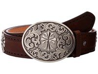 Ariat Perforated Edge Cross Belt Tan Women's Belts