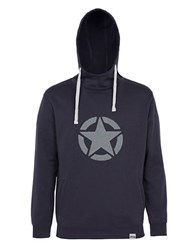 Jeep Hooded Fleece Sweatshirt Blue