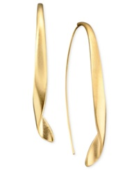 Kenneth Cole New York Earrings Gold Tone Drop