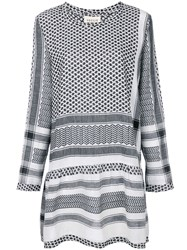 Cecilie Copenhagen Tapestry Print Dress White