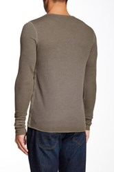 Rogue Long Sleeve Thermal Henley Tee Green