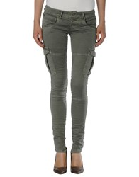 Please Denim Denim Trousers Women Military Green
