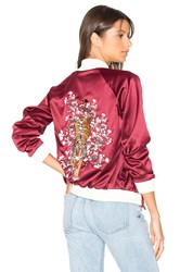 Lovers Friends X Revolve The Nomad Bomber Red