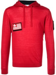 Aztech Mountain Heritage Hoodie Red