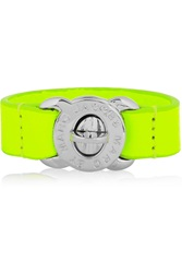 Marc By Marc Jacobs Turnlock Neon Leather Bracelet