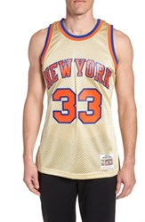 Mitchell And Ness Nba Gold Ewing Jersey