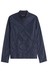 Michael Kors Collection Fabric Jacket Blue