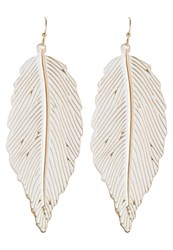 Sweet Deluxe Leaf Earrings Goldcoloured
