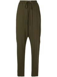3.1 Phillip Lim Tailored Track Pant Green