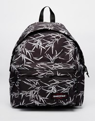 Eastpak Padded Pak'r Backpack In Bamboo Floral Print Boobamblack