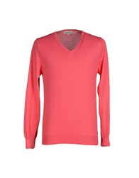 Roy Rogers Roy Roger's Knitwear Jumpers Men Coral