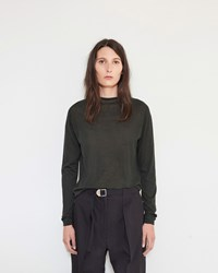 Christophe Lemaire High Neck Sweater Midnight