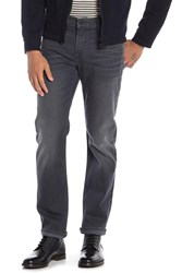 7 For All Mankind Slim Clean Pocket Jeans Voltage Grey