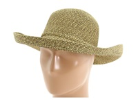 San Diego Hat Company Paperbraid Hat Large Brim Multi Wheat Traditional Hats Yellow