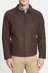 Cutter And Buck Men's Big Tall 'Roosevelt' Water Resistant Full Zip Jacket
