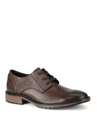 Marc New York Forsyth Lace Up Leather Shoes Brown