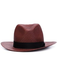 Rag And Bone Cowboy Hat Red