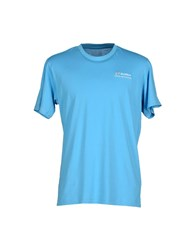 Lotto Topwear T Shirts Men Azure