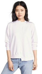 Clu Pleated Back Pullover Macaron Pink White