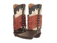 Durango Dream Catcher 12 Wrapped Fringe Americana Cowboy Boots Multi