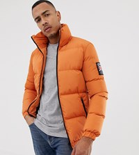 Good For Nothing Puffer Jacket In Orange Exclusive To Asos