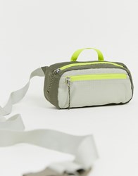 Weekday Colour Block Bum Bag In Green