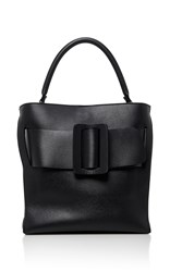 Boyy Devon Leather Shoulder Bag Black