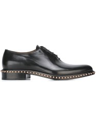 Givenchy Studded Derby Shoes Black
