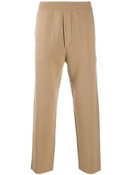 Haider Ackermann Soft Knit Trousers Neutrals