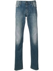 Emporio Armani Slim Fit Jeans Blue