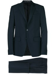 Givenchy Two Piece Formal Suit Blue