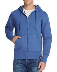 American Giant X Bloomingdale's Holiday Collection Classic Full Zip Hoodie Harbor Blue