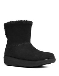 Fitflop Mukluk Shorty Ii Shearling Lined Boots Black