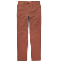 Hardy Amies Cotton Chinos Red