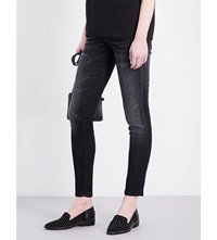 The Kooples Billy Skinny Low Rise Jeans Gry03