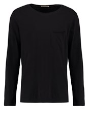 Nudie Jeans Orvar Long Sleeved Top Black