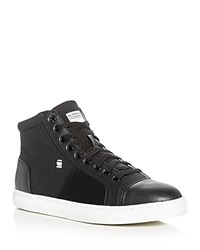 G Star Toublo Mid Top Sneakers Black