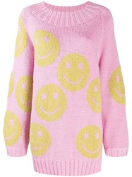 Marc Jacobs Smiley Jumper Pink